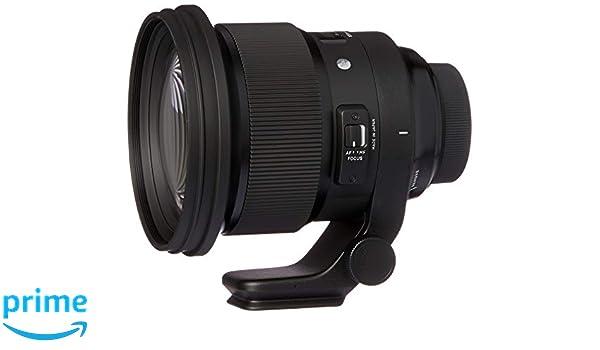 SIGMA 105mm F1.4 DG HSM Art para Nikon: Amazon.es: Electrónica