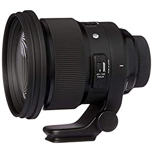 RetinaPix Sigma 105mm f/1.4 DG HSM Art Lens for Nikon DSLR Cameras