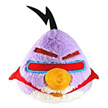 Commonwealth Toy 8-Inch Angry Birds Purple Space Plush with Sound