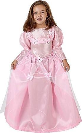 6ef77c37681 Deguisement Robe Princesse Rose Enfant 5 7 ans - Costume Fée Fee - 065