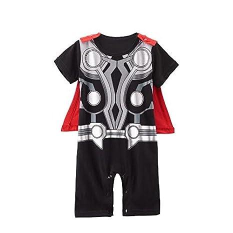 Traje infantil inspirado en Thor. 9-12 meses: Amazon.es: Bebé