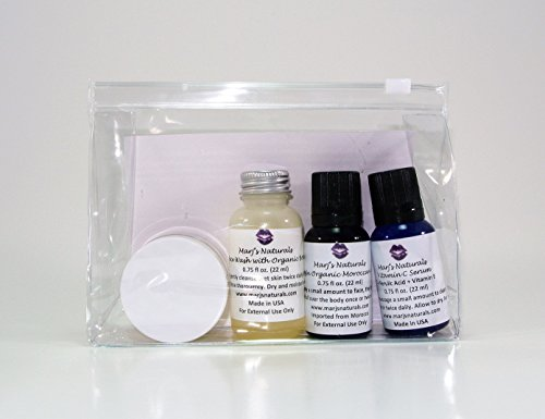 Marj's Naturals Skincare Travel & Trial Kit