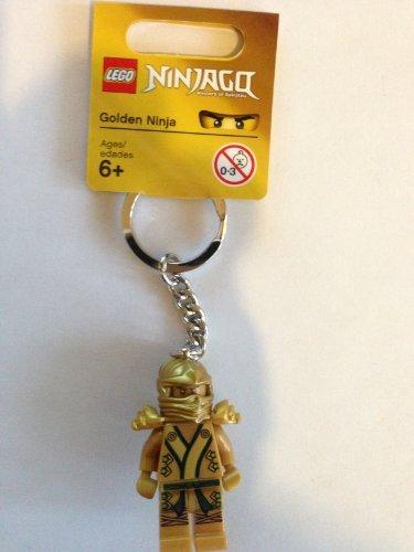 LEGO Golden Ninja Keychain - Gold Keychain Golden