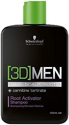 Schwarzkopf Professional 3DMen Champú Activador de Raíces - 250ml