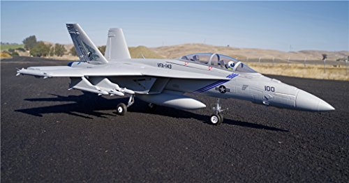 FMS 70mm F-18 Super Hornet Ducted Fan EDF Super Scale RC Airplane Jet 6S PNP (no radio, battery, charger)