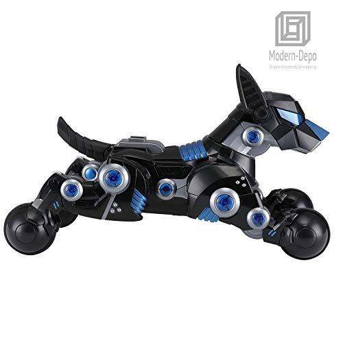 Modern-Depo Rastar Intelligent Robot Dog with Remote Control for Kids, USB Charging, Dancing Demo - Black by Modern-Depo (Image #3)
