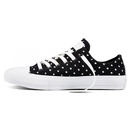 Converse Chuck Taylor All Star Ii Low Donna Sneaker Nero