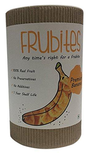Frubites Vacuum Fried Banana Crispies, 40g