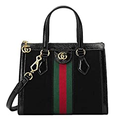 Love G Ucci G Style Women Handbag Tote Mm Shoulder Bag Organizer Made Of Canvas?� Black 24x20 5x10 5cm