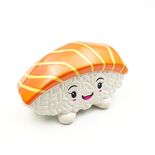 1 piece kawaii Squishies Toy Scented Squeeze Sushi Squish Antistress Cute Squishy Toys Stress Reliever 30S8104 drop shipping -