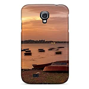 S4 Scratch-proof Protection Case Cover For Galaxy/ Hot Lake Nature Phone Case