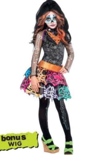 Monster High Skelita Costume Large 12-14 -