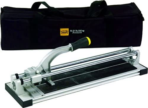 M-D Building Products 49047 20-Inch Tile Cutter, Black/Yellow