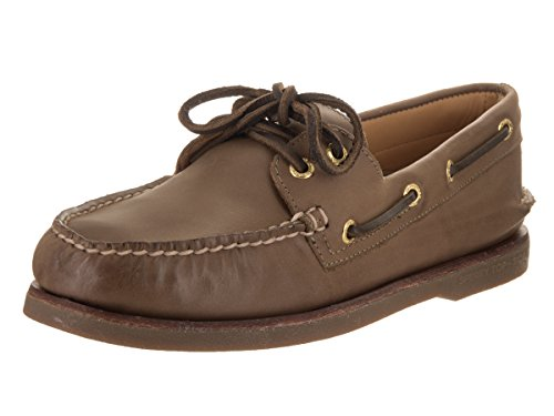 Beige barca Scarpe oro Sperry O 2 Top da colore A Sider Brown scuro vwAwFq8