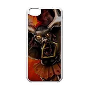 iPhone 5c Phone Case Cover White League of Legends Black Alistar EUA15994257 Make Your Own Phone Case