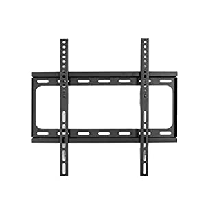 loctek f2s ul certified fixed flat panel tv wall mount bracket for most 32 55 led. Black Bedroom Furniture Sets. Home Design Ideas