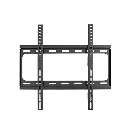 55' Toshiba Tv (Loctek F2S UL Certified Fixed Flat Panel TV Wall Mount Bracket for Most 32-55