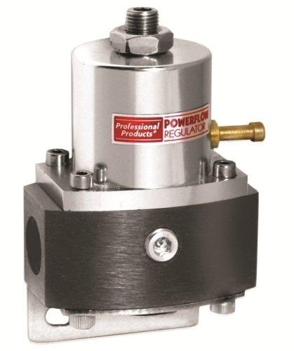 Professional Products 10685 Black/Aluminum 2-Port EFI Fuel Regulator with 9/16-18 Ports