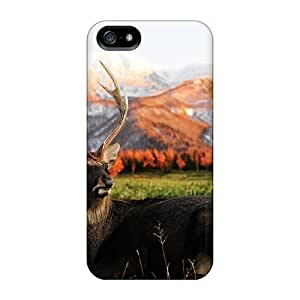 High Impact Dirt/shock Proof Case Cover For Iphone 5/5s (single Deer)
