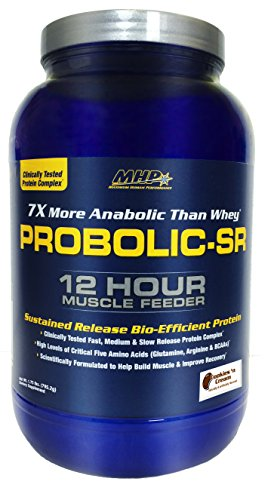 MHP, Probolic-SR Sustained Release Bio-Efficient Protein, Cookies & Cream, 28 Servings