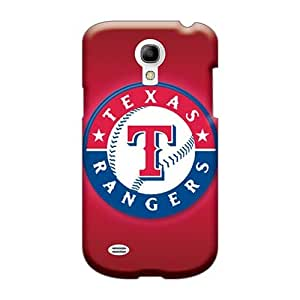 Scratch Protection Cell-phone Hard Covers For Samsung Galaxy S4 Mini (mpy423bDnl) Custom Beautiful Texas Rangers Pictures