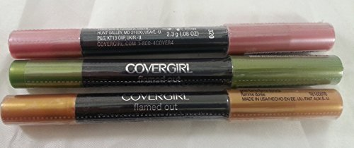 variety-pack-of-3-covergirl-flamed-out-shadow-pencil-lime-green-hot-pinkgold-flame-008-ounce