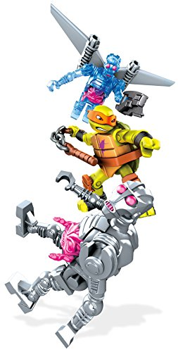 Mega Bloks - Tortugas Ninja - dpf66 - TMNT el véhicule-Robot ...