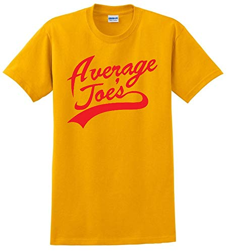 Average Joe Dodgeball Uniform TOP Mens Jersey S-5XL Costume TEE T-Shirt