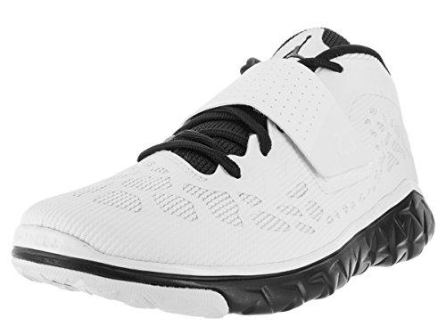 Jordan Nike Men's Flight Flex Trainer 2 Black/White/Black Basketball Shoe 9 Men US -  768911 011