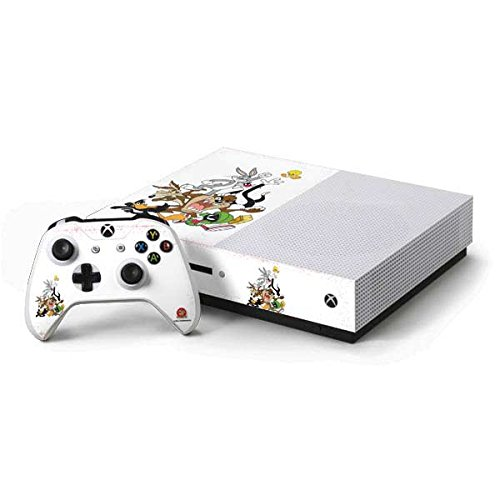 Looney Tunes Xbox One S Console and Controller Bundle Skin - Looney Tunes All Together | Cartoons X Skinit Skin