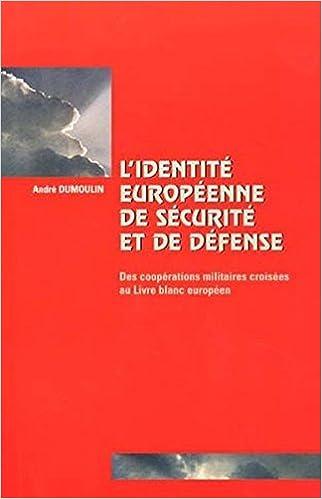 Livres gratuits en ligne Identité Europe sécurité pdf ebook