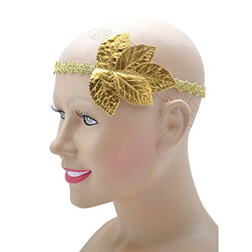 (Bristol Novelty BA412 Gold Leaf Headband, Unisex-Adult, One)