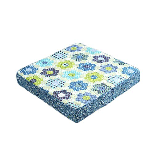 Padded Cushion Seat Cushion Pads Thick Square Seat Cushion,100% Cotton Covered Booster Cushion - Supportive Armchair Booster Cushion - During Pregnancy, Easy Sitting Thick Seat Pads Armchair,40x40x8cm