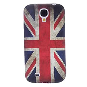 UK Flag Pattern Soft TPU Case for Samsung Galaxy S4 I9500