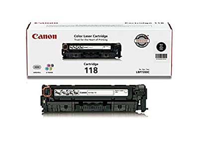 Canon Original 118 Toner Cartridge - Black Genuine