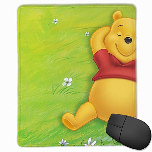 Mouse Pad Winnie The Pooh Computer Mouse Mat (7.1x8.7IN,18x22CM)