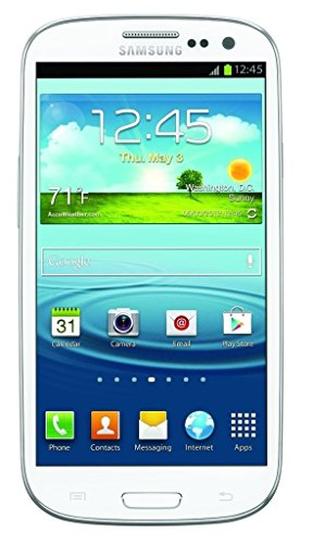 Samsung Galaxy S3 I747 16GB 4G LTE Unlocked GSM Android Smartphone - Marble White (International version, No Warranty) (Samsung Galaxy S3 Unlocked Gsm)