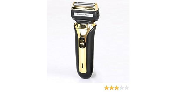 Afeitadora Eléctrica Mojado Y Seco Masculino Eléctrico Máquina De Afeitar Con Tur Bo Plus Modo: Amazon.es: Hogar