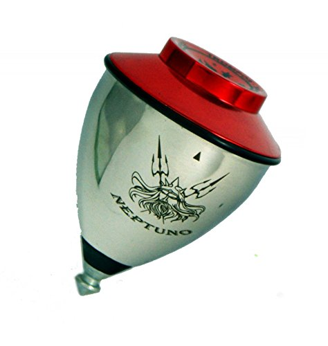 Trompos Space SL Spin Top Neptuno Roller - Bearing Tip SpinTop (Red) by Trompos Space SL (Image #2)