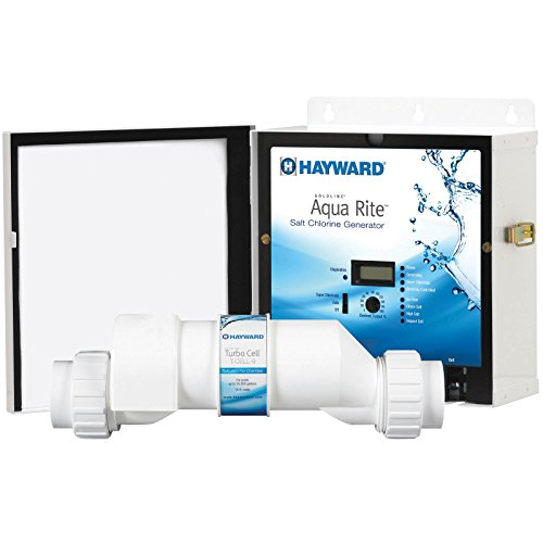 - Hayward Goldline AQR15 AquaRite Electronic Salt Chlorination System for In-Ground Pools ,  40,000-Gallon Cell