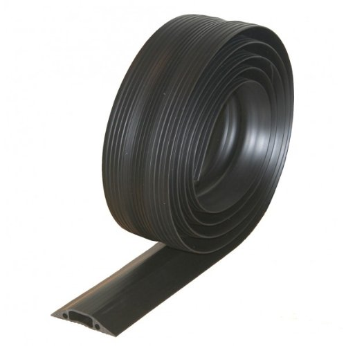 rubber floor cable tidy protector floor matttroy. Black Bedroom Furniture Sets. Home Design Ideas