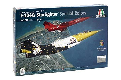 Italeri 2777 Lockheed Martin F-104G Starfighter Special Colors Airplane/Jet 1/48 Scale Plastic Model Kit