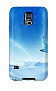 Case Cover Dreamy Jet World/ Fashionable Case For Galaxy S5