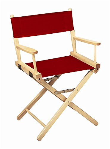 Gold Medal 18'' Table Height CONTEMPORARY Directors Chair by Everywhere Chair