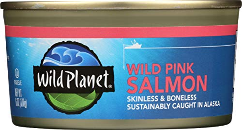 (Wild Planet, Wild Pink Salmon, 6 Ounce (Pack of 12))