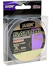 Jaxon Satori - Hilo de Pesca (fluorocarbono, 20 m, Bobina de 0,10-0,60 mm)