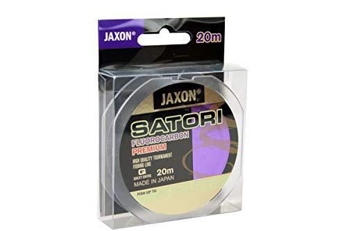 Jaxon Angelschnur Vorfachschnur Satori FLUOROCARBON Premium 20m Spule 0,10-0,60mm