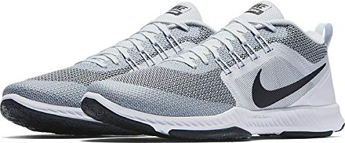 Nike Mens Zoom Domination TR Cross Training Shoes (Pure Platinum/Black/White, Size 9.5 M US)
