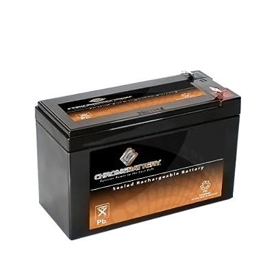 12v 7ah Sealed Lead Acid Sla Battery For 570 Portable Fish Finder by Chrome Battery