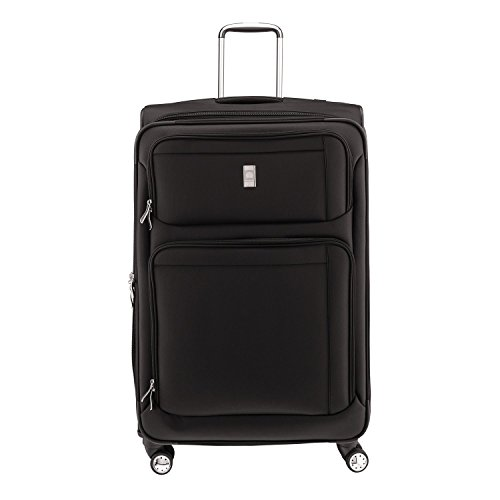 """Delsey Helium Breeze 4.0 25"""" Expandable Spinner Trolley - Black"""